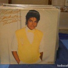 Disques de vinyle: MAXI SINGLE MICHAEL JACKSON THRILLER MUY BUEN ESTADO 1982. Lote 276602658