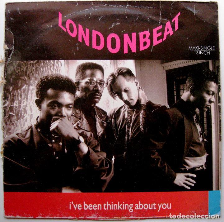LONDONBEAT - I'VE BEEN THINKING ABOUT YOU - MAXI ANXIOUS RECORDS 1990 BPY (Música - Discos de Vinilo - Maxi Singles - Pop - Rock Internacional de los 90 a la actualidad)