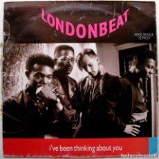Discos de vinilo: LONDONBEAT - I'VE BEEN THINKING ABOUT YOU - MAXI ANXIOUS RECORDS 1990 BPY. Lote 276616303