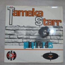 Discos de vinilo: 48132 - TAMEKA STARR - GOING IN CIRCLES , INCLUIDING L.T.J. SOUL INVENTION REMIX. Lote 288134328