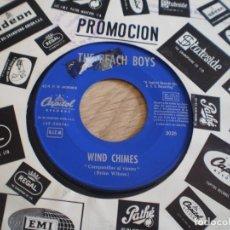 Disques de vinyle: SINGLE. THE BEACH BOYS. WILD HONEY + WIND CHIMES. PROMOCIONORIGINAL 1967. Lote 276633723