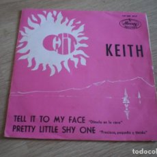 Disques de vinyle: SINGLE. KEITH. TELL IT TO MY FACE. DISCO PROMOCIONAL. ORIGINAL 1967. Lote 276634433