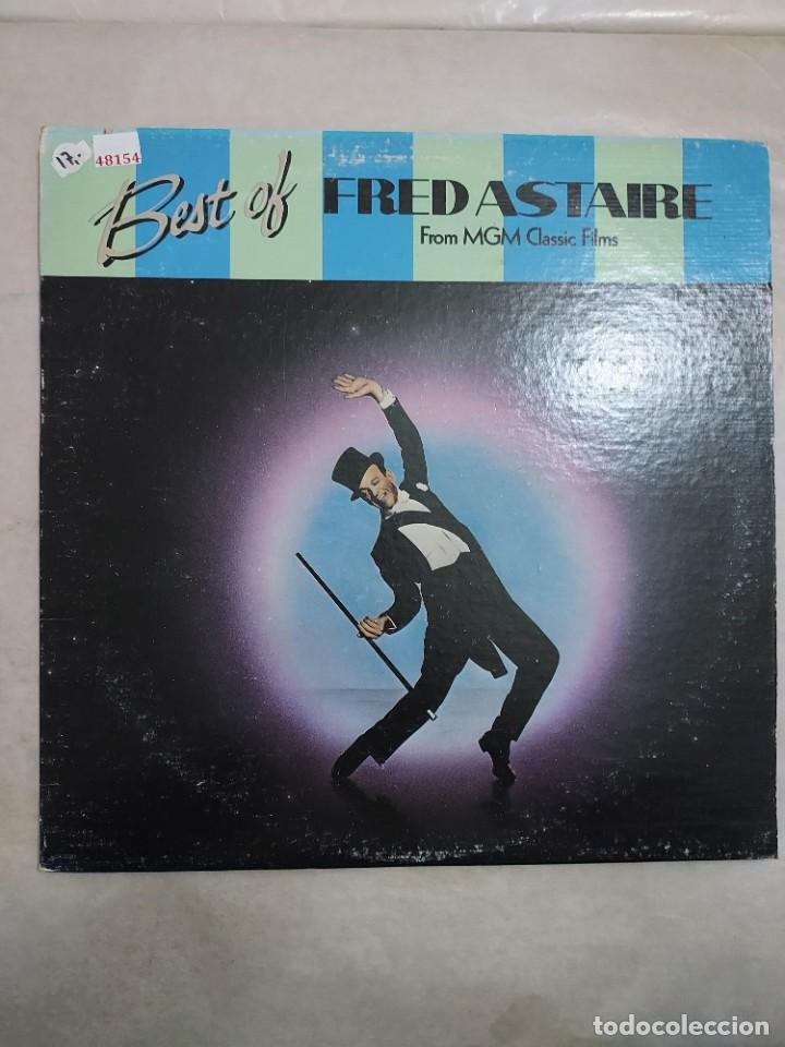 48154 - BEST OF - FREDASTAIRE - STEPPIN OUT WITH MY BABY (Música - Discos - LP Vinilo - Otros estilos)