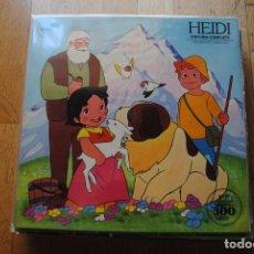 Dischi in vinile: HEIDI. HISTORIA COMPLETA. CBS 1975 LP. BUENO. Lote 276643383