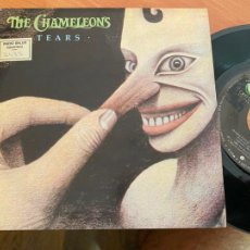 Discos de vinilo: THE CHAMELEONS (TEARS) SINGLE ESPAÑA 1986 PROMO (EPI24). Lote 276644858