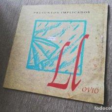 Discos de vinilo: PRESUNTOS IMPLICADOS-LLOVIÓ. MAXI. Lote 276649033