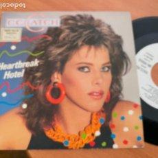 Discos de vinilo: C. C. CATCH (HEARTBREAK HOTEL) SINGLE ESPAÑA 1986 PROMO (EPI24). Lote 276649678