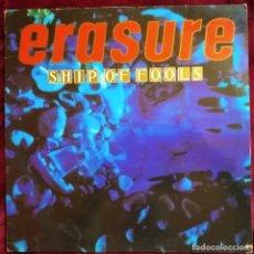 Discos de vinilo: ERASURE - SHIP OF FOOLS, ESPAÑA 1988, 12 MUTE 74, (VG+_VG+). Lote 276654958