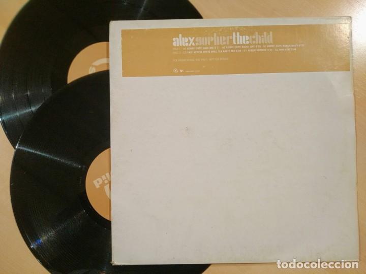 """ALEX GOPHER, THE CHILD, USA 2000, PROMO, 2X12"""" DOBLE MAXI, EXCELENTE ESTADO (EX_EX) (Música - Discos de Vinilo - Maxi Singles - Pop - Rock Internacional de los 90 a la actualidad)"""