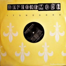 Discos de vinilo: MAXI DEPECHE MODE, IT´S NO GOOD, 1997 UK PROMO, MUTE P12 BONG 26 (VG+_EX). Lote 276659568