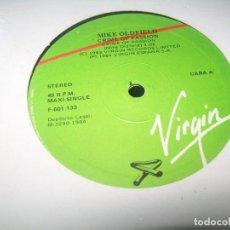 Discos de vinilo: MIKE OLDFIELD – CRIME OF PASSION - MAXISINGLE DE 1984 - VIRGIN - ESPAÑA. Lote 276668773