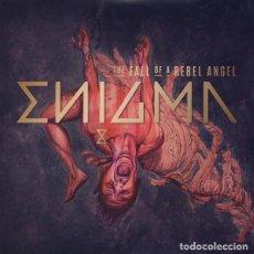 Discos de vinilo: ENIGMA - THE FALL OF A RBEL ANGEL, EU 2016,GATEFOLD+LIBRO ILUSTRACIONES,NUEVO DESPRECINTADOL (NM_NM). Lote 276669603