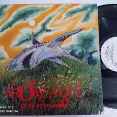 Disques de vinyle: BROMEA O QUE? - PASTO DE TIBURONES - LP GRABACIONES ACCIDENTALES 1990. Lote 276673853