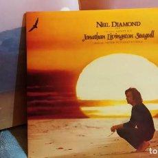 Discos de vinilo: NEIL DIAMOND - JONATHAN LIVINGSTON SEAGULL, UK 1973, CBS – S 69047, GATEFOLD+LIBRETO (NM_NM). Lote 276675108