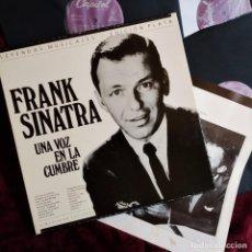 Discos de vinilo: FRANK SINATRA, UNA VOZ EN LA CUMBRE, 3 LP BOX, RECOPLILATORIO, ESPAÑA 1989,CON LIBRETO, (VG+_EX). Lote 276679628