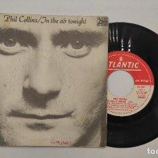 """Discos de vinilo: VINILO DE 7 PULGADAS DE PHIL COLLINS QUE CONTIENE """"IN THE AIR TONIGHT"""" Y """"THE ROOF IS LEAKING"""".. Lote 276680838"""