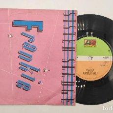"""Discos de vinilo: VINILO DE 7 PULGADAS DE FRANKIE QUE CONTIENE """"SISTER SLEDGE"""" Y """"HOLD OUT POPPY"""". ATLANTIC. Lote 276682183"""