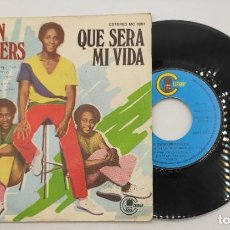 """Discos de vinilo: VINILO DE 7 PULGADAS DE GIBSON BROTHERS QUE CONTIENE """"QUE SERA MI VIDA"""" Y """"YOU""""DISCOGRÁFICA: CARNABY. Lote 276683558"""