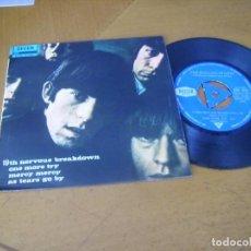 Discos de vinilo: EP : THE ROLLING STONES - 19 TH NERVOUS BREAKDOWN + 3 ED SPAIN 1966. Lote 276684168