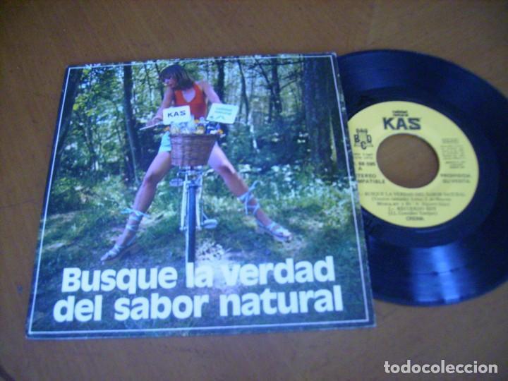 CREMA BUSQUE LA VERDAD DEL SABOR NATURAL +3 / KAS BCD 1972- MUY RARO EP (Música - Discos de Vinilo - EPs - Pop - Rock Internacional de los 70)