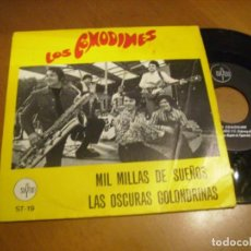 Discos de vinilo: 7'' LOS COMODINES / MIL MILLAS DE SUEÑOS + 1. Lote 276689138