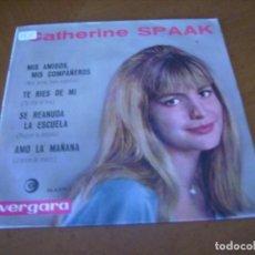 Discos de vinilo: EP : CATHERINE SPAAK - ED 1964. Lote 276689783