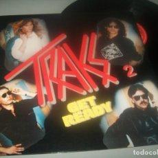 Discos de vinilo: TRAKS 2 - GET READY ..LP DE DE POLYDOR - ESPAÑOL - 1983 - BUEN ESTADO. Lote 276694353