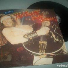 Discos de vinilo: TED NUGENT - GREAT GONZOS ! ( THE BEST OF ) ..LP DE 1981 - EDICION EUROPEA. Lote 276694918