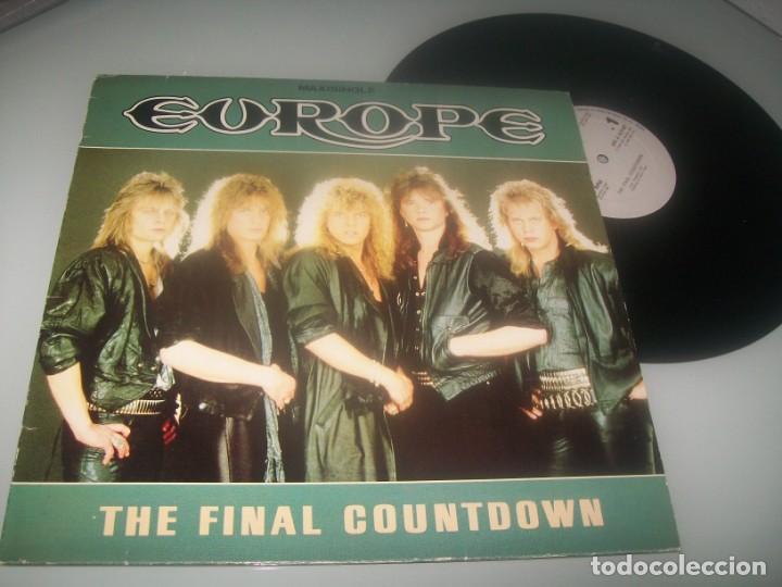 EUROPE - THE FINAL COUNTDOWN...MAXISINGLE DE 1986 - VERSION LARGA + OTROS TEMAS - MUY BUEN ESTADO (Música - Discos de Vinilo - Maxi Singles - Heavy - Metal)