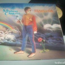 Discos de vinilo: MARILLION - MISPLACED CHILDHOOD ..LP DE 1985 - CARPETA ABIERTA - COMO NUEVO. Lote 276697708