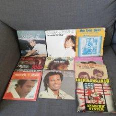 Discos de vinilo: LOTE 72 DISCOS VINILOS 45 RPM 2 CARAS ARTISTAS NACIONALES E INTERNACIONALES - 45 TOURS 2 TITRES. Lote 276699208