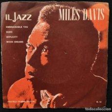 Discos de vinilo: MILES DAVIS - MILES DAVIS. Lote 276704948