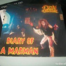 Discos de vinilo: OZZY OSBOURNE - DIARY OF A MADMAN. ..LP DE 1981 - 1ª EDICION ESPAÑOLA - JET CON ENCARTE. Lote 276705663
