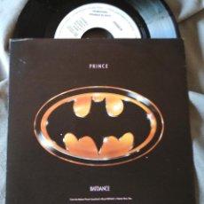 Discos de vinilo: PRINCE - BATDANCE. SINGLE PROMOCIONAL EDICIÓN ESPAÑOLA. Lote 276706608