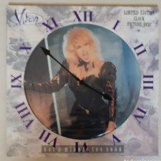 """Discos de vinilo: VIXEN """"NOT A MINUTE TOO SOON"""" 12"""". Lote 276713803"""
