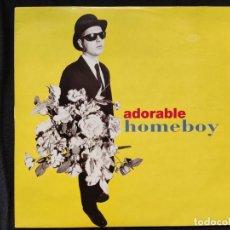 Discos de vinilo: ADORABLE - HOMEBOY. Lote 276714333