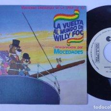 Discos de vinilo: LA VUELTA AL MUNDO DE WILLY FOG * 45 SPAIN PS * PROMO WL * ED. ESPECIAL LOS CUARENTA PRINCIPALES. Lote 276717213
