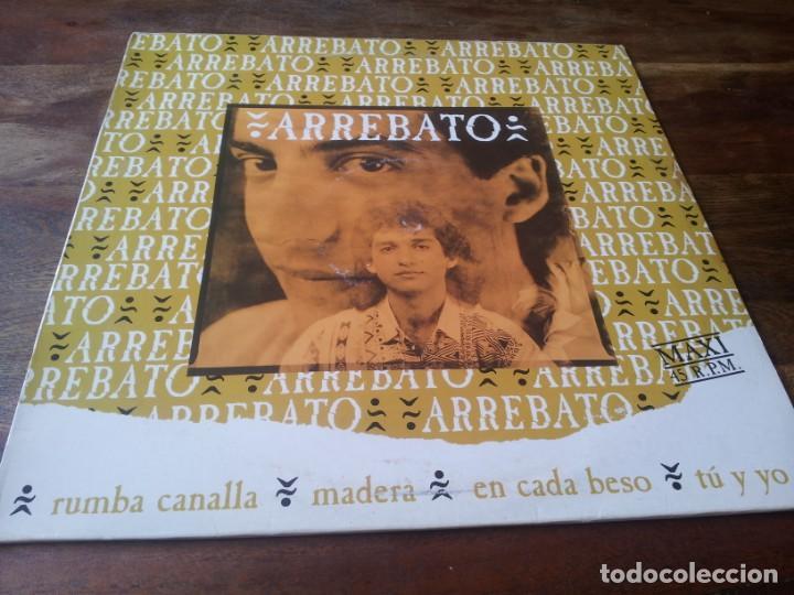 ARREBATO - RUMBA CANALLA - MAXISINGLE ORIGINAL EMI ESPAÑA 1992 (Música - Discos de Vinilo - Maxi Singles - Flamenco, Canción española y Cuplé)