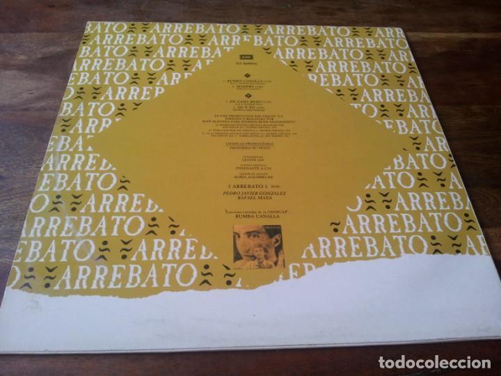 Discos de vinilo: Arrebato - Rumba Canalla - Maxisingle original Emi españa 1992 - Foto 2 - 276724638