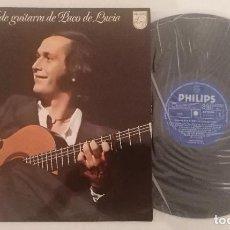 Disques de vinyle: DISCO VINILO PACO DE LUCÍA RECITAL DE GUITARRA LP 1975. Lote 276726068