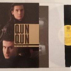Disques de vinyle: DISCO VINILO QUN QUN LAS FASES DE LA LUNA LP 1989. Lote 276729753