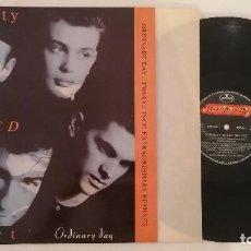 Discos de vinilo: DISCO VINILO CURIOSITY KILLED THE CAT ORDINARY DAY MAXI SINGLE 1987. Lote 276730708