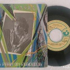 Disques de vinyle: DISCO VINILO SINGLE CASAL POKER PARA UN PERDEDOR EP 1983. Lote 276731618