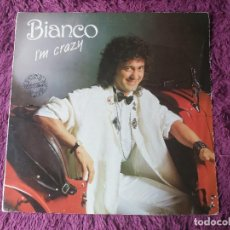 Discos de vinilo: BIANCO – I'M CRAZY ,VINYL MAXI-SINGLE 1986 SPAIN SSL-2 PROMO. Lote 276732828
