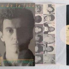 Disques de vinyle: DISCO VINILO EL ÚLTIMO DE LA FILA COMO LA CABEZA AL SOMBRERO LP 1989. Lote 276733143