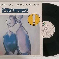 Disques de vinyle: DISCO VINILO PRESUNTOS IMPLICADOS DE SOL A SOL LP 1990. Lote 276735938