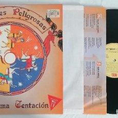 Disques de vinyle: DISCO VINILO AMISTADES PELIGROSAS LA ÚLTIMA TENTACIÓN LP 1993. Lote 276736363