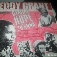 Discos de vinilo: EDDY GRANT - GIMME HOPE JO'ANNA...MAXISINGLE DE HISPAVOX DE 1988 - BUEN ESTADO. Lote 276739313