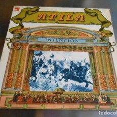 Discos de vinilo: ATILA - INTENCION -, LP, INTENCIÓN + 3, AÑO 1976. Lote 276743488