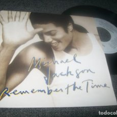 Discos de vinilo: MICHAEL JACKSON - REMEMBER THE TIME + COME TOGETHER ( THE BEATLES ) - EPIC - 1991 - ED HOLLAND. Lote 276743553